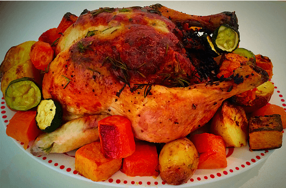 Stuffed Roasted Chicken With Vegetables Journey Into The Low Fodmap Diet